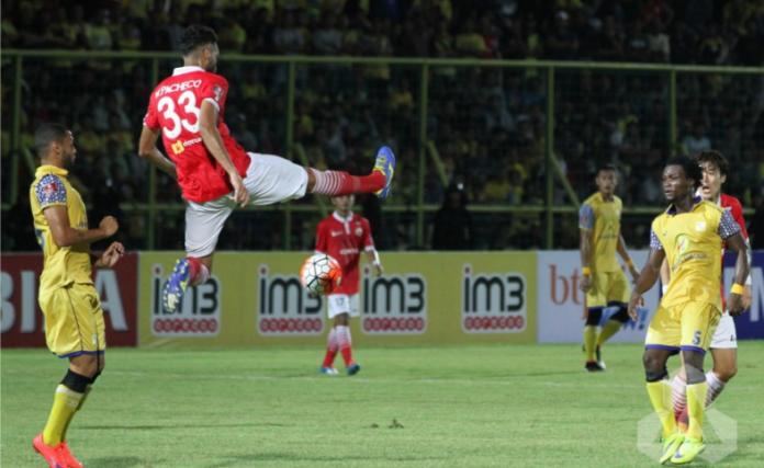 Persija Jakarta vs PS Barito Putera