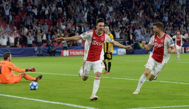 Prediksi Skor Bola Benfica vs Ajax 8 November 2018